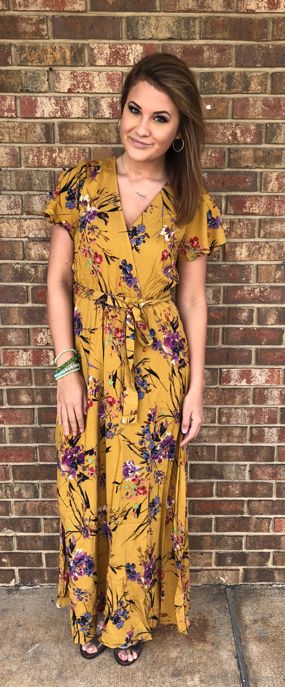Fall is in the Air Maxi
