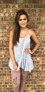 Layer Me Tank, Grey
