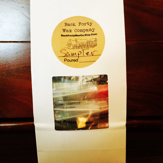 Mystery Wax Shot Sampler - Back Forty Wax Co.