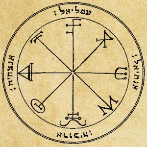 Keys of Solomon: Third Pentacle of Saturn