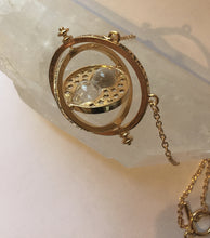 Steampunk Time Pendant Hour Glass
