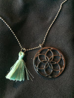 Healing Mandala of Life Pendant- Flower of Life