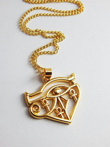 Ankh Eye of Horus Pendant