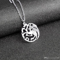 Triple Dragon Necklace