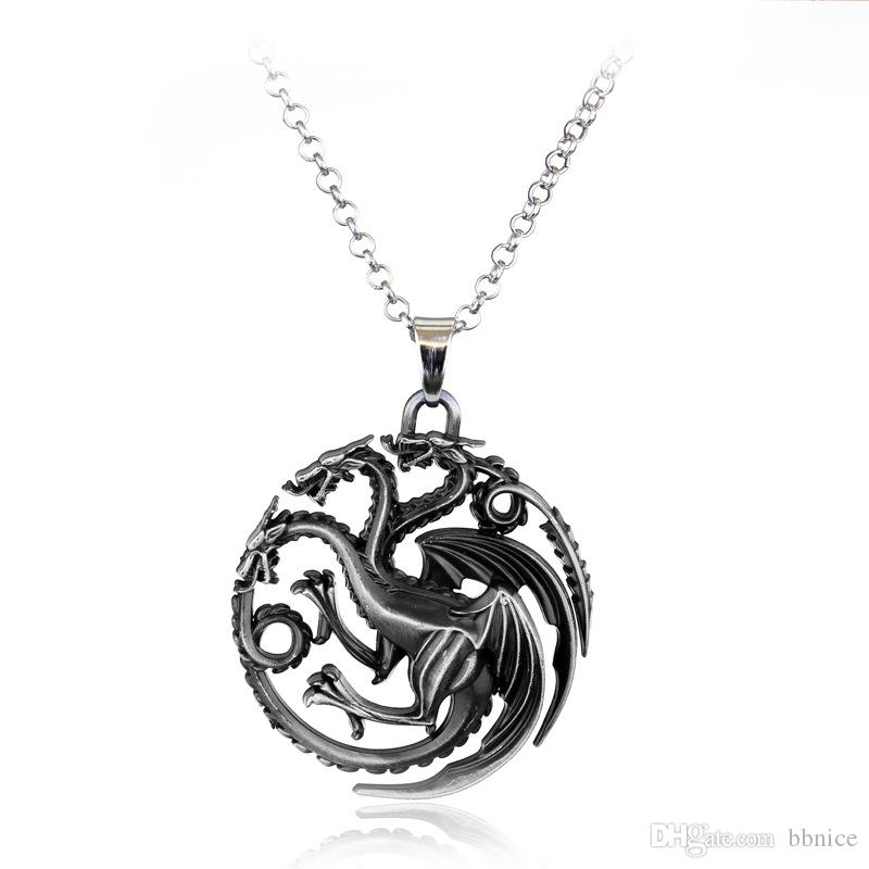 Silver Dragon Pendant: Whimsical Fantasy