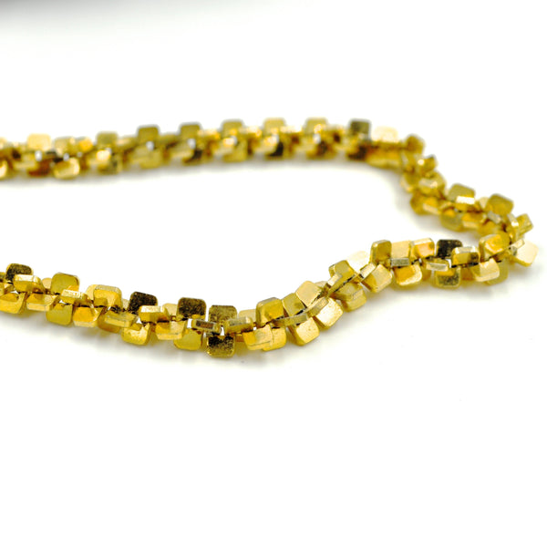 Vintage Heavy Gold Tone Chain