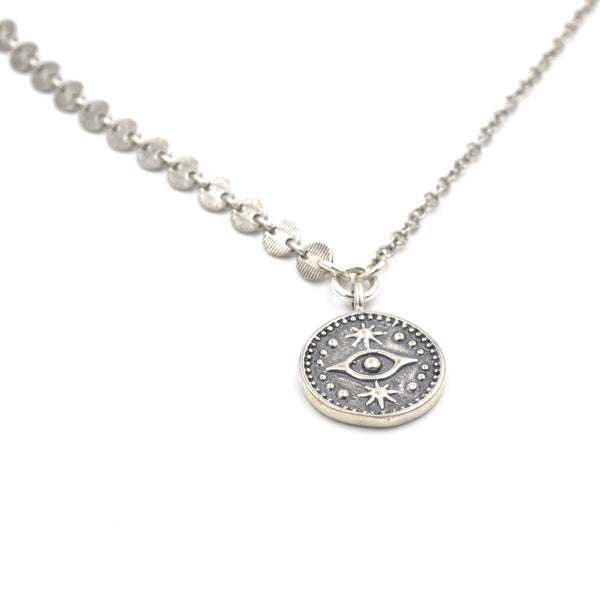 celestial eye necklace