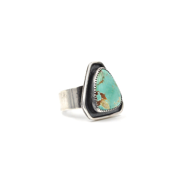 OOAK Turquoise Shadow Ring