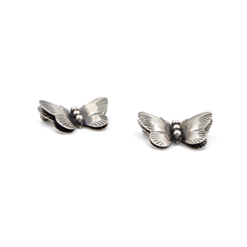 Vintage Sterling Silver Butterfly Pins (925) - Best Friend Pins