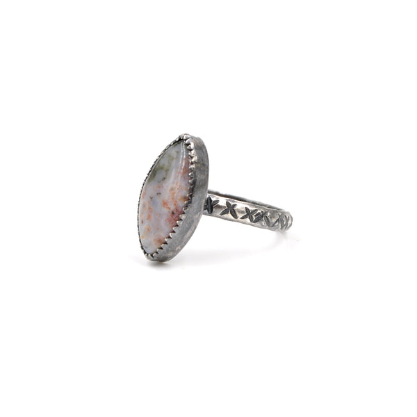 Montana Agate Ring (925)
