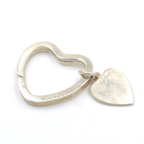 Vintage Sterling Heart Key Chain (.925)