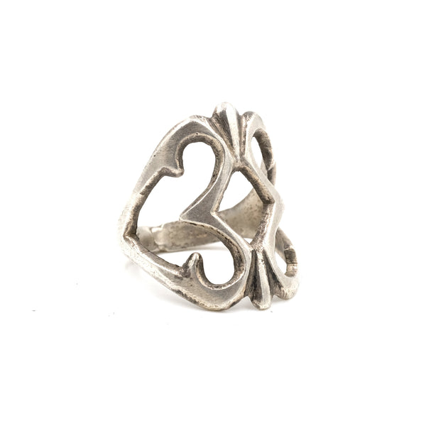 Four Winds Sterling Sandcast Ring