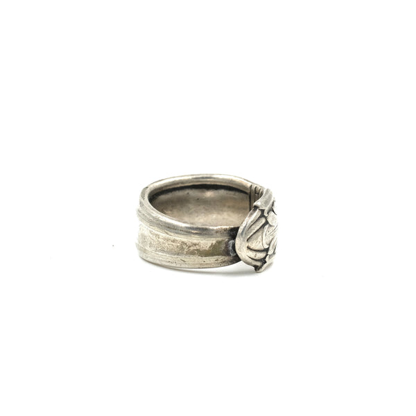 Sterling Spoon Ring // Size: 6.5