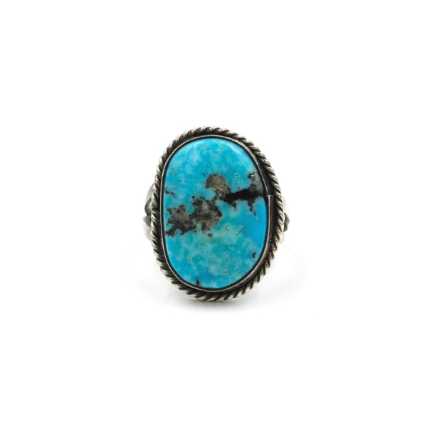 Turquoise Statement Ring // Size: 8.5