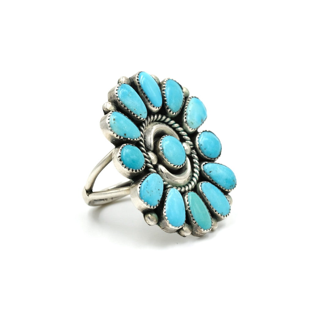 Vintage Petit Point Statement Ring // Size: 7.5