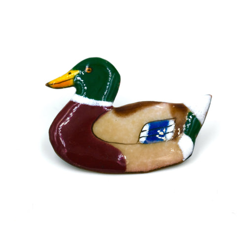 Enamel Duck Pin