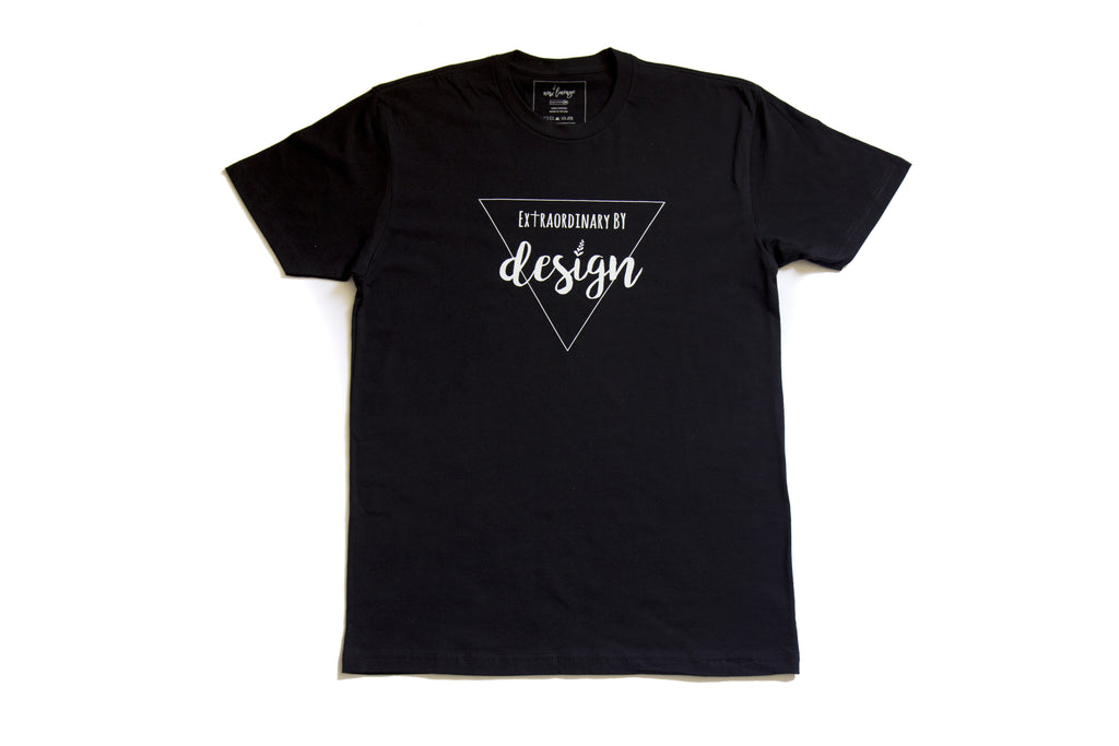 Extraordinary by Design T-Shirt - Black