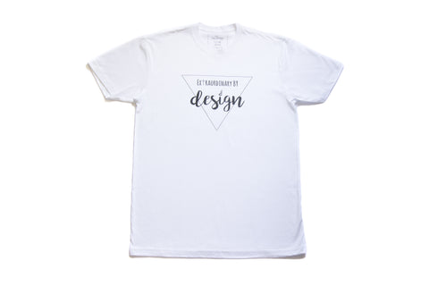 Extraordinary by Design T-Shirt - White