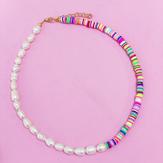 Colorspot Pearl Necklace