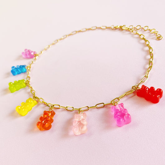 Gummy Bears Gold Edition Necklace