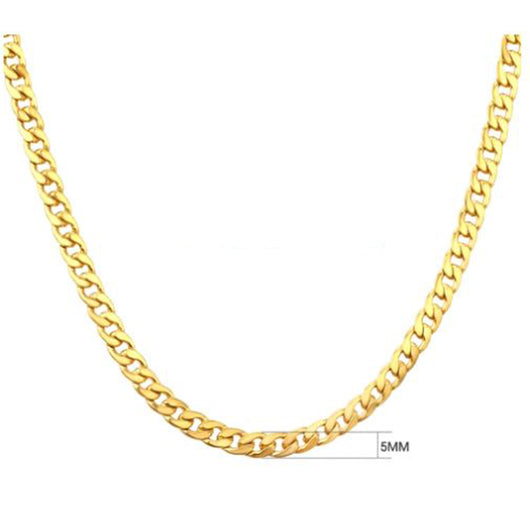 Goldchain Basic 5mm Necklace