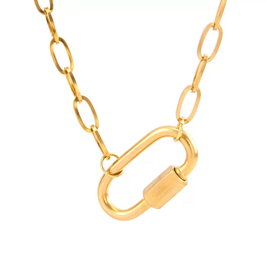 Mosqueton Gold Chain Necklace