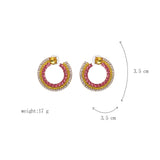 Curvessun Earrings