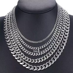 Silverchain Basic 7mm Necklace