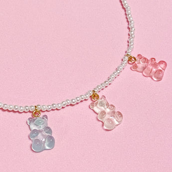 Sweet Gummy Bears Necklace