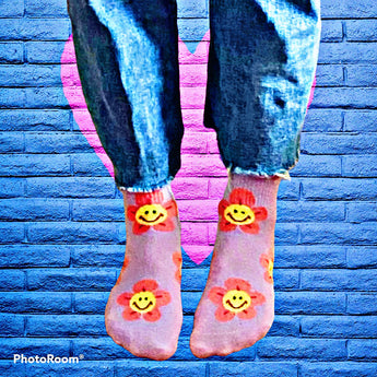 Sweet Smiley Socks