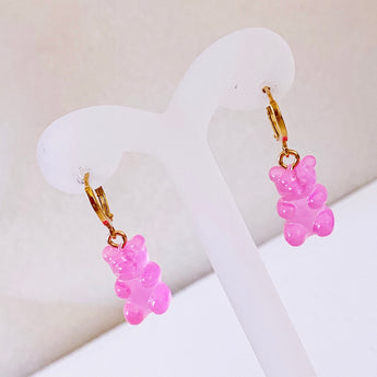 Gummy Bears Pink Hoops