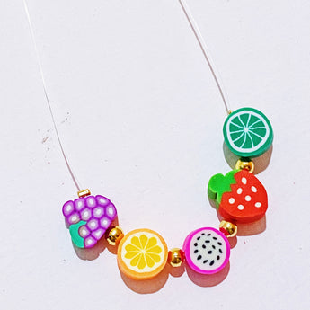 Juicy Fruit Ghost Necklace