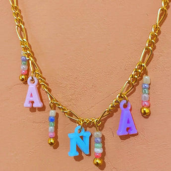 Sweet Cream Custom Necklace