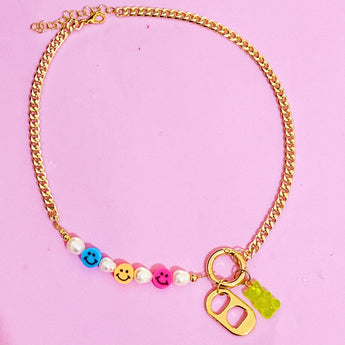 Pop Smiley Necklace