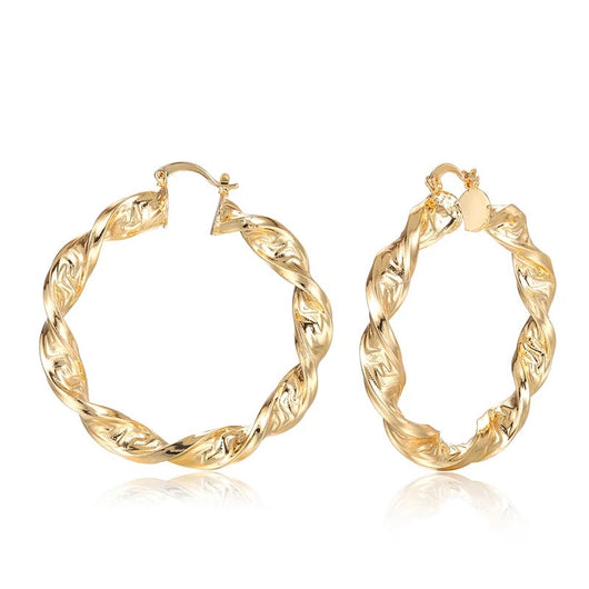 Twister Hoops Earrings