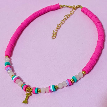 Pinky Necklace con o sin inicial