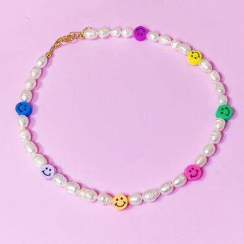 Smiley FreshPearl Necklace