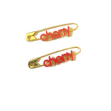 CherryPin Earrings
