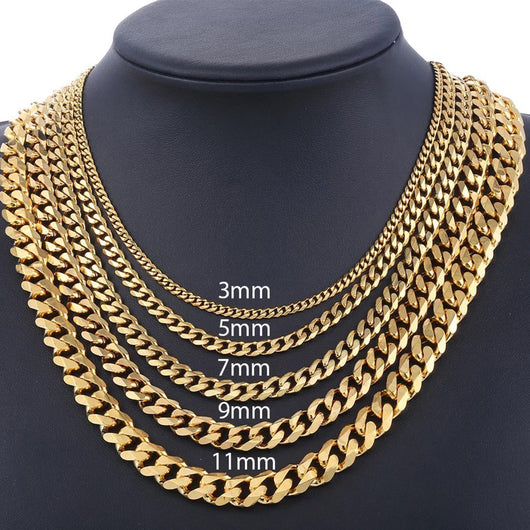 Goldchain Basic 7mm Necklace