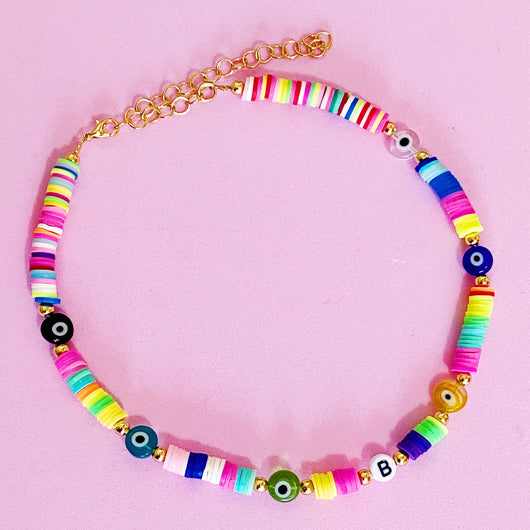 Custom Evileye Colorful Necklace