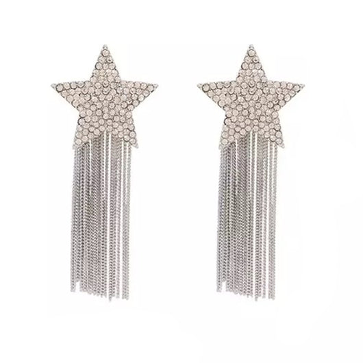 Silverstar Earrings