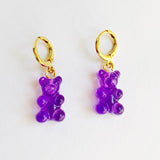 Gummy Bears Purple Hoops