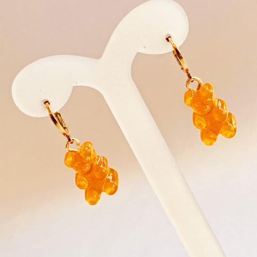 Gummy Bears Orange Hoops