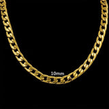 Goldchain Basic 10 mm Necklace