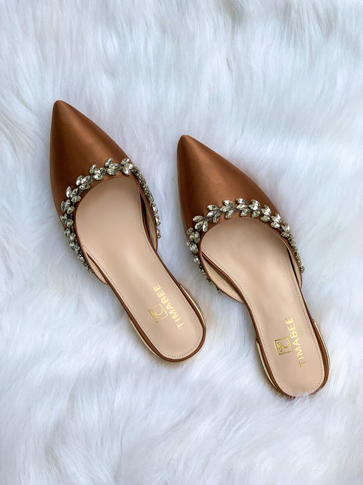 HAUWA FLATS BROWN