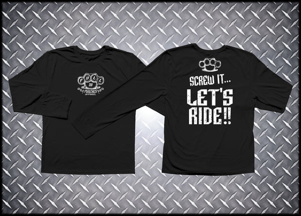 Let's Ride Long Sleeve / Black & White