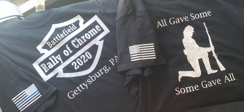 A Battlefield Rally of Chrome Event shirt
