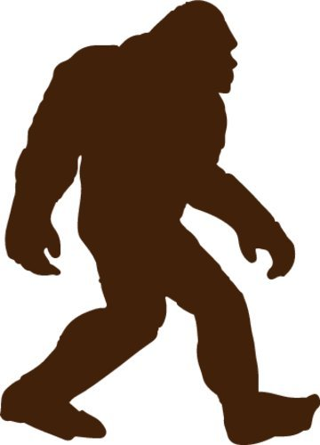 WickedGoodz Bigfoot Refrigerator Magnet - Sasquatch Bumper Magnet - Perfect Folklore Cryptozoology Gift-WickedGoodz