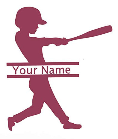 Customized Softball Players Name Vinyl Decal-WickedGoodz