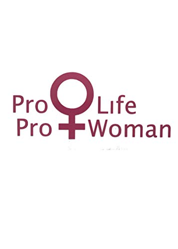 Custom Pro Woman Pro Life Vinyl Decal - Anti Abortion Bumper Sticker, for Tumblers, Laptops, Car Windows, Life Decal-WickedGoodz
